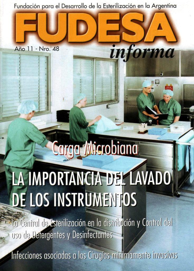 Portada FUDESA informa Nº 48 (2011)
