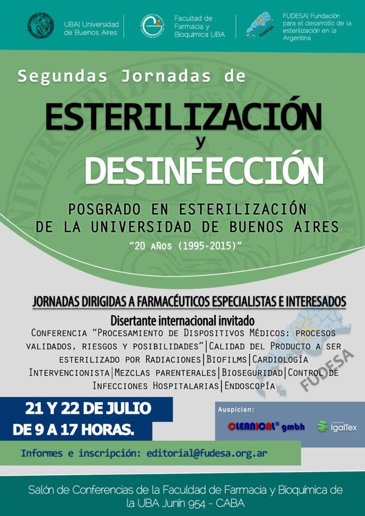 Afiche Jornadas Julio